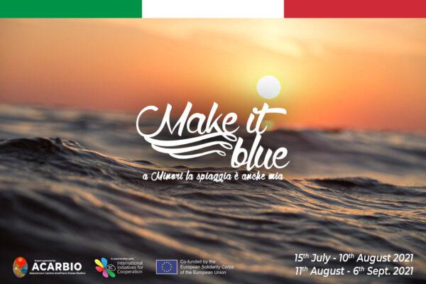 Make It Blue Project🌊